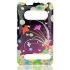 Flower Art Hard Case Snap on Cover Sprint HTC EVO 4G