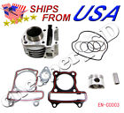 engine cylinder gasket piston ring set sunl scooter moped GY6 50cc