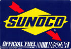 SUNOCO RACING FUEL OFFICIAL FUEL OF NASCAR DECAL STICKER
