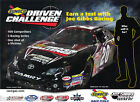 2011 JOE GIBBS RACING SUNOCO DRIVEN CHALLENGE #20 POSTCARD