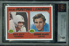 1976 TOPPS # 206 GUY - WEAVER PROOF BGS 9 SOLO FINEST GRADED UNIQUE