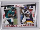 2011 Panini Prestige Adrian Peterson M.J.D. League LeaderDual Patch #28 50 A.P.#