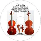 VIOLIN FIDDLE LIBRARY Making Repair Restore How to Varnish PLAY Courses Comp DVD