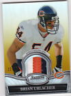 2010 Bowman Sterling Brian Urlacher Patch #22of 25 3 Color