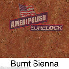 1 GL. Burnt Sienna CONCRETE COLOR DYE 4 CEMENT, STAIN AMERIPOLISH Surelock color