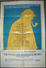 PRIVATE LIFE OF SHERLOCK HOLMES ORIG US ONE SHEET MOVIE POSTER BILLY WILDER