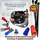 Whitfield Pellet Stove Combustion Low Limit Sensor Switch +Instructions