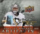 2011-12 11-12 UPPER DECK ARTIFACTS HOBBY FACTORY SEALED BOX