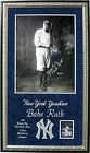 BABE RUTH NEW YORK YANKEE 16X20 photo DELUXE FRAMED 24X40 in his Jersey BN