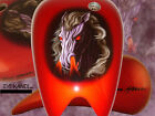Harley Motorcycle Tank Fender Paint Set - Custom Paint & Airbrushing Services