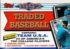 1992 Topps Traded Baseball Factory Set w FREE SHIPPING