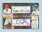 ROBINSON CANO CHASE UTLEY 2006 TOPPS CO-SIGNERS DUAL AUTOGRAPH AUTO SP