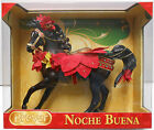 Noche Buena Poinsettia Holiday 2012 deluxe horse set,  NEW by Breyer