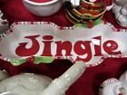 Fitz & Floyd Classics Mingle, Jingle, Be Merry Two (2) Dishes