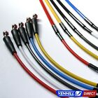06-11 Kawasaki KX250F Front Braided Stainless SS Brake Line by Venhill