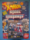 X MEN Steel Mutants CABLE vs STRYFE Die Cast 1994 Toy Biz NIP