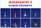 DREAMWORKS MADAGASCAR MOVIE FIGURE DANGLER PHONE CHARMS ORNAMENTS YOU PICK ONE