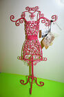 NEW JEWELRY HOLDER MANNEQUIN PINK ROOM DECOR PARIS SHEFFIELD HOME