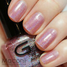 ★Glitter Gal★ Flawless Pink - Fuchsia Pink Holographic Holo 3D Nail Polish