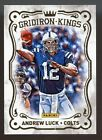 2012 PANINI NATIONAL CONVENTION ANDREW LUCK GRIDIRON KINGS ROOKIE RC