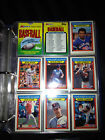 1988 Topps Kmart Memorable Moments Baseball Set 33 Cards Includes 9 Pocket Pages