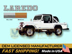 1985 1986 Jeep Scrambler Laredo CJ8 Decals  Stripes Kit