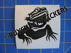 Bearded Dragon Vinyl Decal Sticker 3x3 Any Color