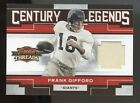 Frank Gifford Cards, Rookie Cards and Autographed Memorabilia Guide 19