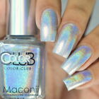 ★Color Club★ Harp On It - Halo Hues Silver Holographic Holo Nail Polish 976