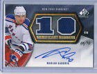 10-11 UPPER DECK SP GAME USED SIGNIFICANT NUMBERS MARIAN GABORIK 10 AUTO
