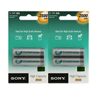 Sony Cycle Energy Multi Use Premium Rechargeable NI-MH AA 2500mAh Battery 4 PACK