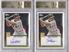 2011 Topps Lineage 52 AUTO Mike Stanton BGS 9.5 10 - Giancarlo