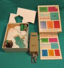 VINTAGE Professional Button Holder by Singer W/Instructions In Box -