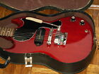 GIBSON 1965 SG Junior Jr. P-90 Cherry Maestro Vibrola Chipboard case ORIGINAL 65