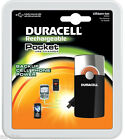 Duracell Pocket mini USB Charger Travel Emergency Backup Battery for Cell Phone