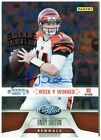 Andy Dalton 2012 Panini Father's Day Certified AUTOGRAPH Auto Card 3 5 D361