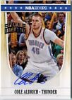 Cole Aldrich 2012 Panini Father's Day Hoops AUTOGRAPH Auto Card 5 D450