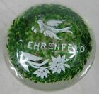 Vintage Early 1900's Hand Made Paperweight~C. Ehrenfeld