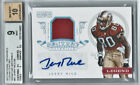 Jerry Rice auto BGS Autograph Jersey #'D 1 of 20 Graded 9 Mint E-bay 1 of 1 WOW