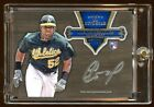 YOENIS CESPEDES TOPPS FIVE STAR BASE RC AUTO SP 17 99 A'S SUPERSTAR RC AUTO HOT