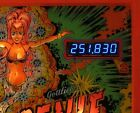Gottlieb GENIE Pinball Machine,BLUE LED Display Kit NEW
