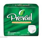 Prevail Extra Absorbency Adult Protective Underwear youth/small Case/88 units