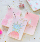 Cookie Girl 1pc Mini Diary Notebook Cute Pocket Planner Journal Memo Free Note
