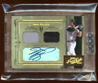 2004 PRIME CUTS MIKE PIAZZA 1 1 AUTOGRAPH AUTO DUAL GAME WORN JERSEY METS LEGEND