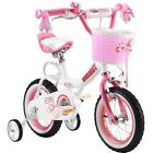 ROYAL BABY PRINCESS PINK GRILS BIKES IN SIZE 12 14 16 18 20