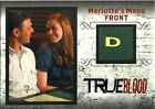 TRUE BLOOD ARCHIVES - R3 (261 299) 1 PER BOX - RELIC CARD