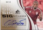 Omar Cummings 2011 UD SP Game Used Soccer SIGnificance AUTO Card 08 10 *J418