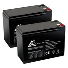 PACK OF 2 12V 10AH RECHARGEABLE SEALED LEAD ACID BATTERY for EBIKE SCOOTERS