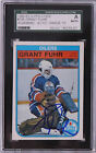 Grant Fuhr 1982-83 OPC Signed Rookie Graded Autograph