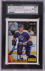 Luc Robitaille 1987-88 OPC Signed Rookie Graded Autograph